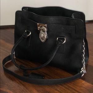 Micheal Kors Black Shoulder Bag